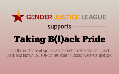 In Support of Taking B(l)ack Pride