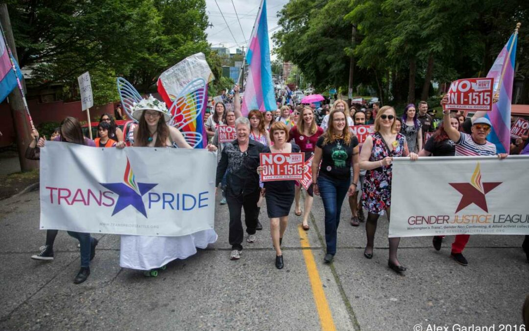 Trans* Pride 2016 dances through the rain on Capitol Hill