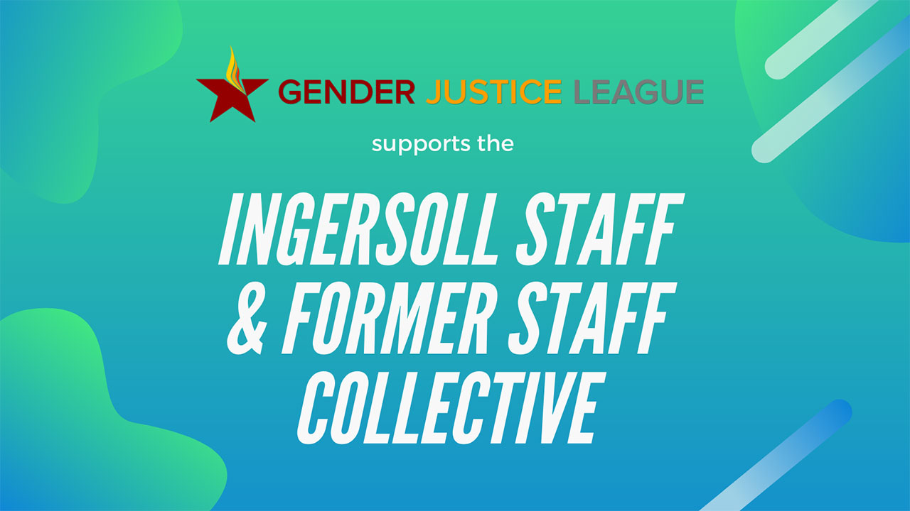 support of ingersoll staff