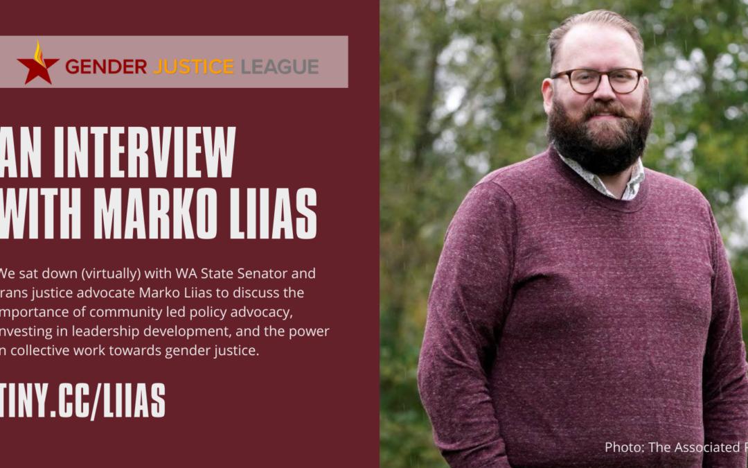 An Interview with WA State Senator Marko Liias